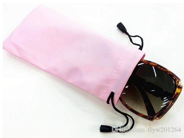 Fedex DHL Waterproof Sunglasses Pouch Soft Eyeglasses Bag Glasses Case Mobile Phone Bag Mix colors