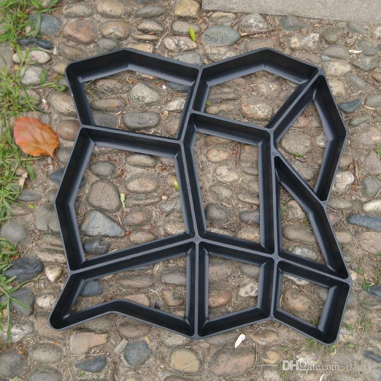 Moule Pour Beton acheter bricolage béton garden pave moule pour faire des chemins de