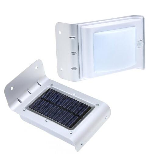 16 LEDs Sound Sensor / Body Motion Sensor Solar Power Light Outdoor Wall Lamps Sensor Light Waterproof Garden Courtyard Lamp Solar Light