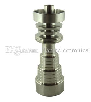 Universal Domeless 6 in 1 Titanium Nails 10mm 14mm 18mm Joint Male and Female GR2 Nail Glass Bongs Water Pipes Dab Rig Tool