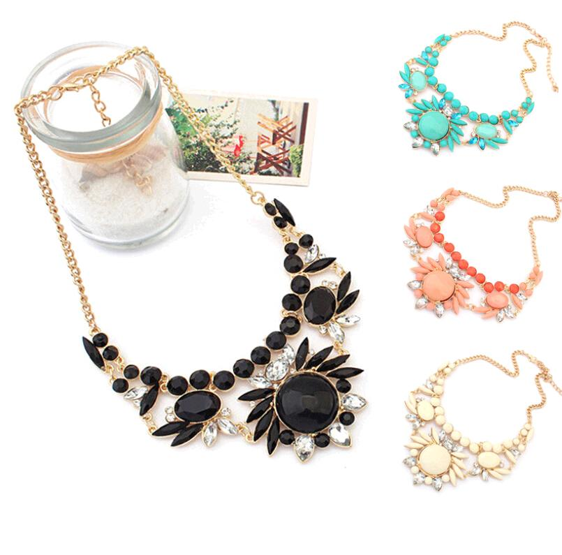 Gemstone pendants rhinestone statement necklace bohemian jewelry gemstone pendants rhinestone statement necklace bohemian jewelry chains chokers sautoir accessories for woman wholesale v018 bohemian chokers green gemstone aloadofball Choice Image