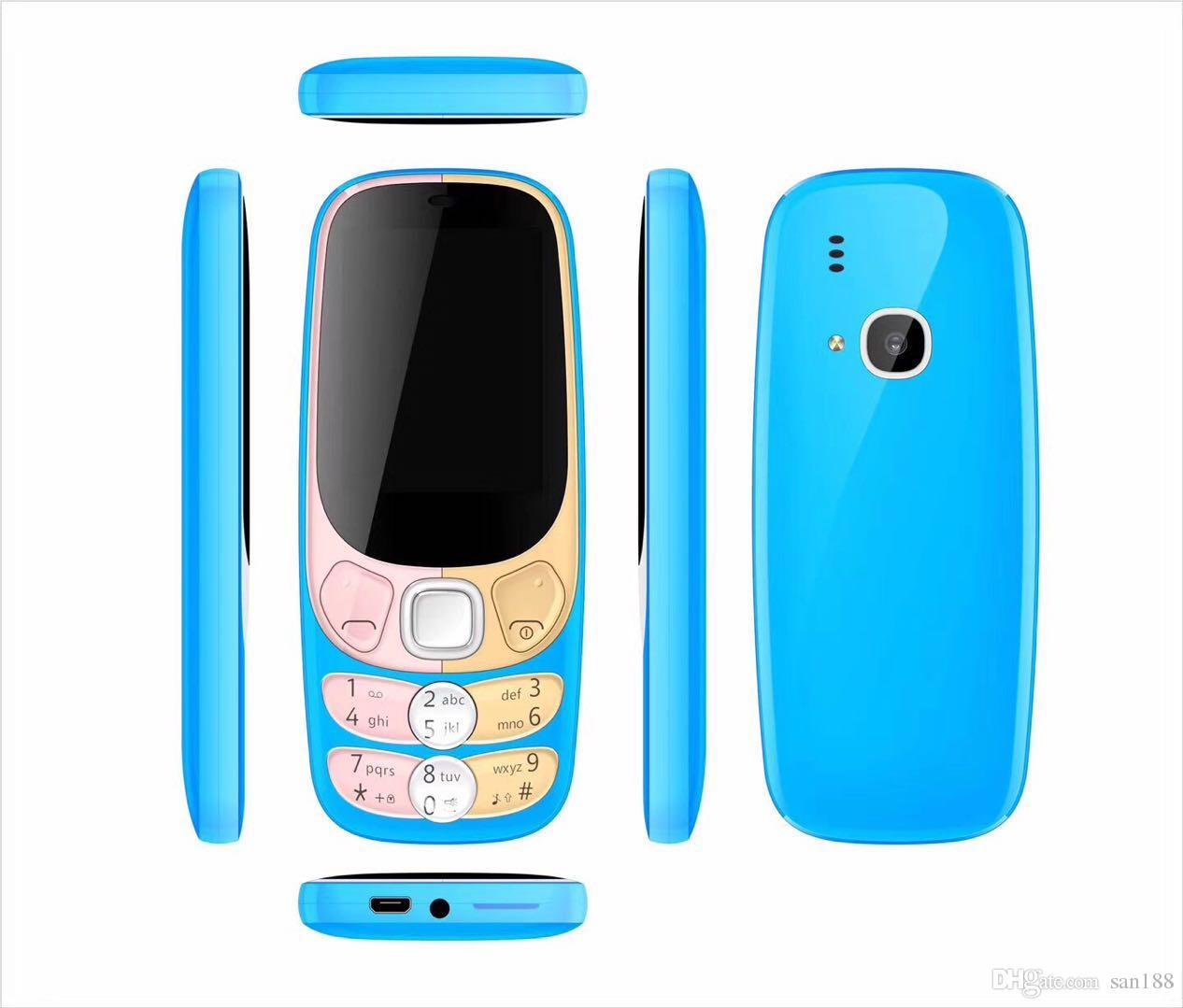 Bar phone Camera FM sim card 4 stand by 2.4 inch 2300 cell phone with bluetooth camera FM raido