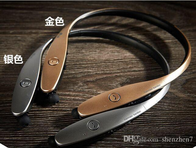 HBS900 HBS-900 Tone + auriculares inalámbricos Neckband auriculares en la oreja los auriculares estéreo Bluetooth para iphone5 6 plus dhl ear009 libre