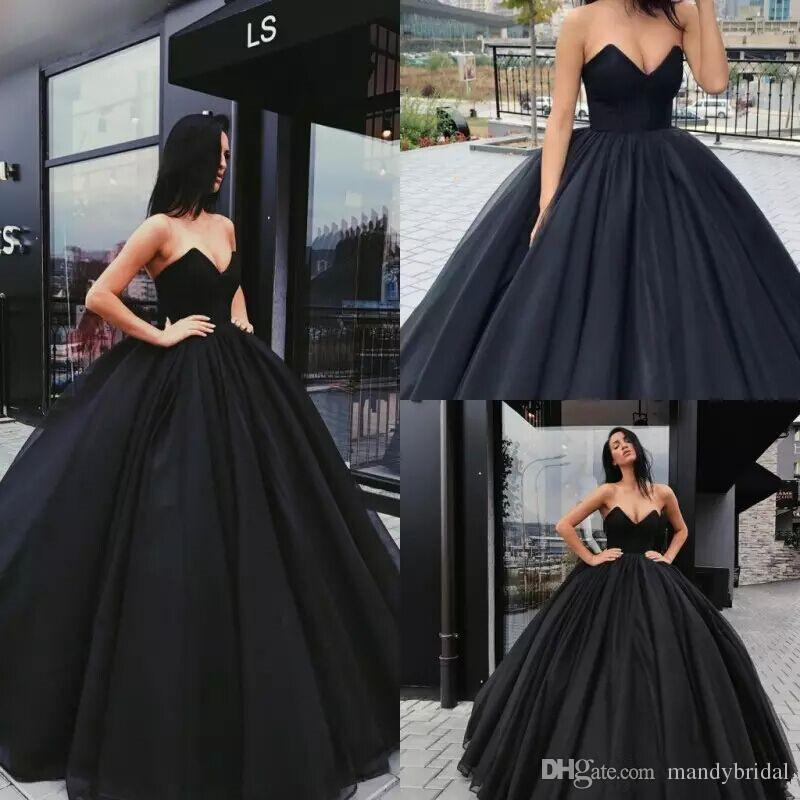 Black Evening Gowns 2018