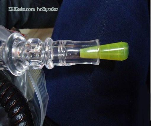 아랍 shisha e 물 담뱃대 분무기 일회용 긴 테스트 물방울 팁을위한 플라스틱 물방울 팁 개별적으로 패키지와 5 색으로 물방울 팁