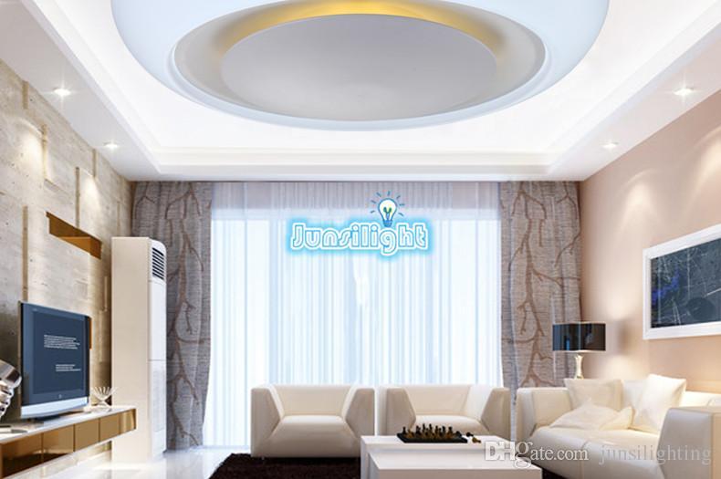 라운드 33W LED 천장 조명 Dimmable 패널 표면 장착 따뜻한 자연 쿨 화이트 AC 170-240V