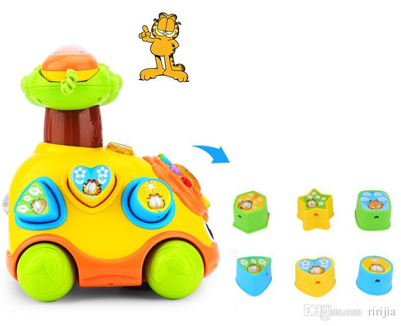 Beiens Wind Up Oyuncak Eğitici Karikatür Gülümseme Telefon Halat Araba Gelişim Hediye Oyuncak Çocuklar Için Müzik Erken Eğitim Bulmaca Oyuncaklar