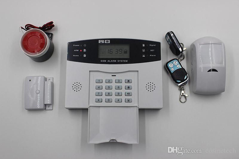 Preiswertes klassisches APP-Steuerung drahtloses verdrahtetes SMS G- / Mwarnungssystem, Viererkabel-Band G- / Mhauswarnungsalarmsystem, Hauptautomatikalarmsystem