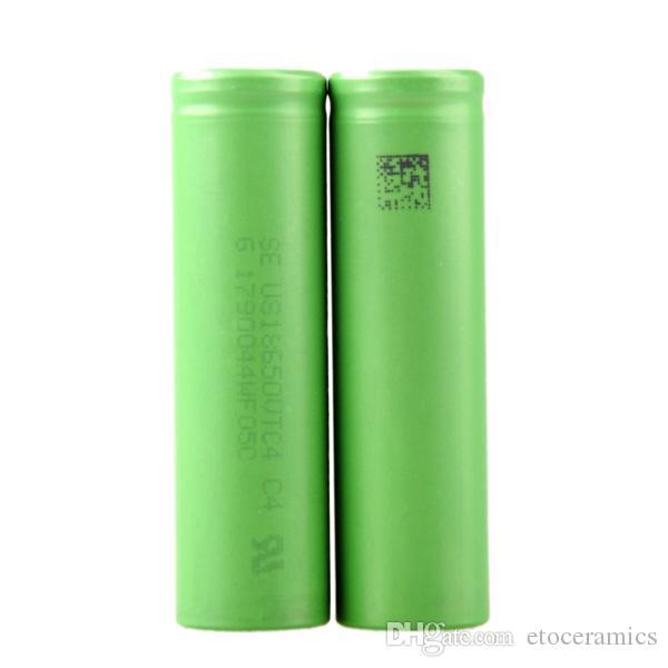 VTC5 18650 Clone Bateria US18650 Bateria Li-on VTC4 Bateria apto Todos Os Cigarros Eletrônicos V6 Nemesis Manhattan Mech Mod