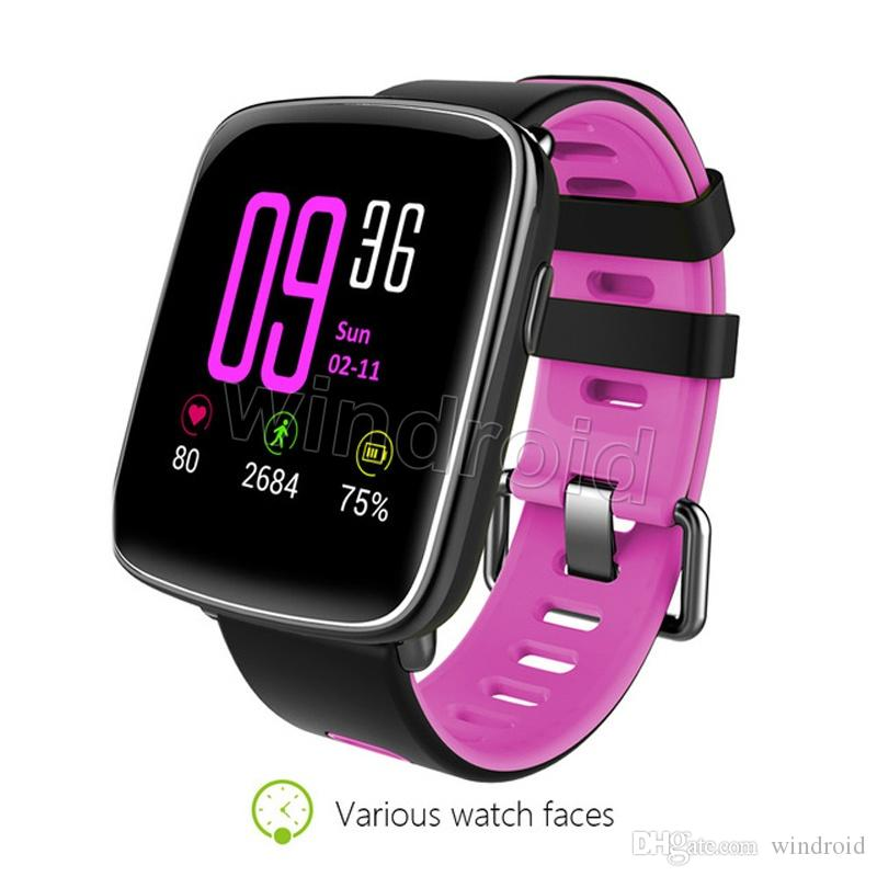 GV68 Sport Smart Watch IP68 Waterproof MTK2502 Bluetooth Connectivity Wearable device Heart Rate for Android IOS Smartwatch Bracelet cheap