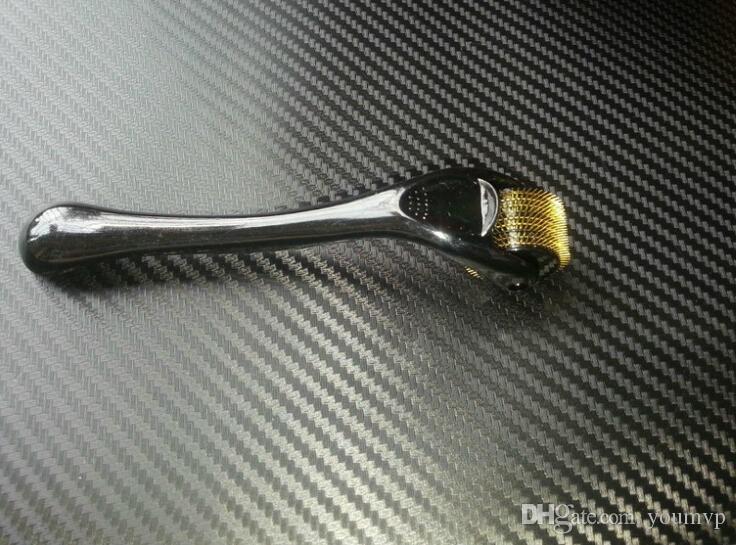 MT Derma Rulo 540 Titanyum Alaşımlı Mikro İğneler Titanyum Derma Rulo Cilt Akne Terapi Sistemi 0.2mm-3.0mm