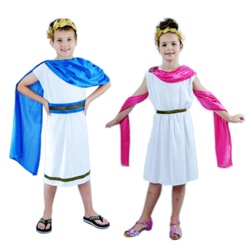 Ladies Men Greek Roman Grecian Goddess God Fancy Dress Outfit Adult