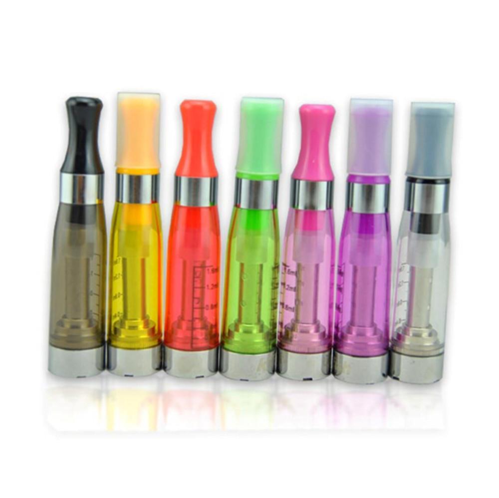 CE5 vaporizador atomizador 1.6 ml 2.4ohm nenhum Wicks ponta de gotejamento Ecigarettes para cigarros eletrônicos eGo kit UGO eGo T bateria colorido DHL