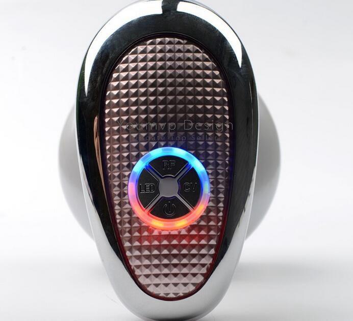 Radiofrequenza RF RADIO FREQUENCY Ultrasonic Beauty Light strumento la casa con l'imballaggio al dettaglio JJD2254