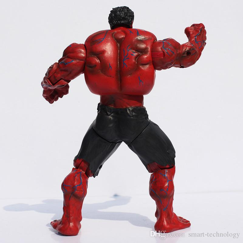 Kırmızı Hulk Action Figure Avengers 10