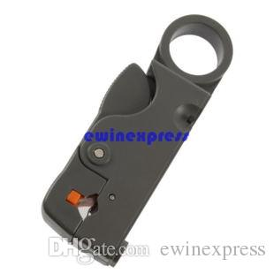 Hot Good New Rotary Coaxial Coax Cable Cutter Stripper Tool for RG58 RG6 RG59 Lead Insulation