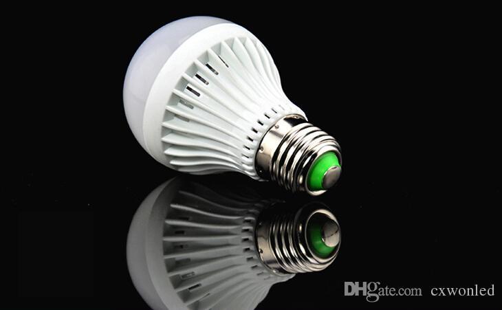 CE Rohs approval plastic bulb MD5730 lED light lamp 3w 5w 7w 9w e27 plastic kitchen light covers