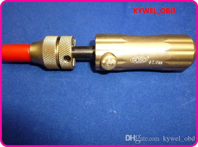 GOSO高度調整可能操作7ピンチューブラーロックピックセット(7.0mm / 7.5mm / 7.8mm)ロックスミスツールロックオープナロックピン