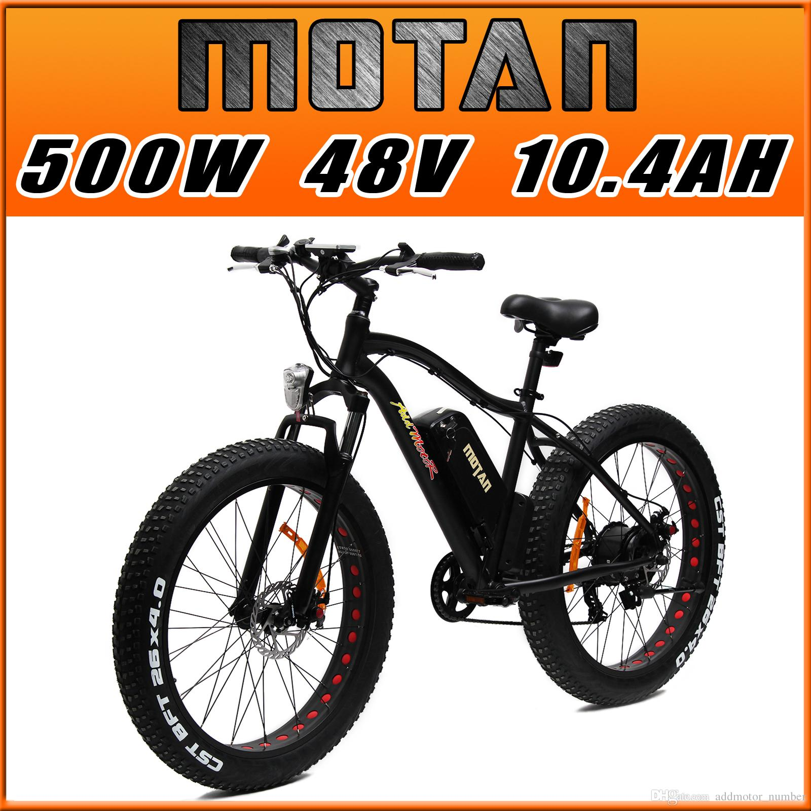 Addmotor Motan M 550 Fat Tire Electric Bicycles Mountain Fork