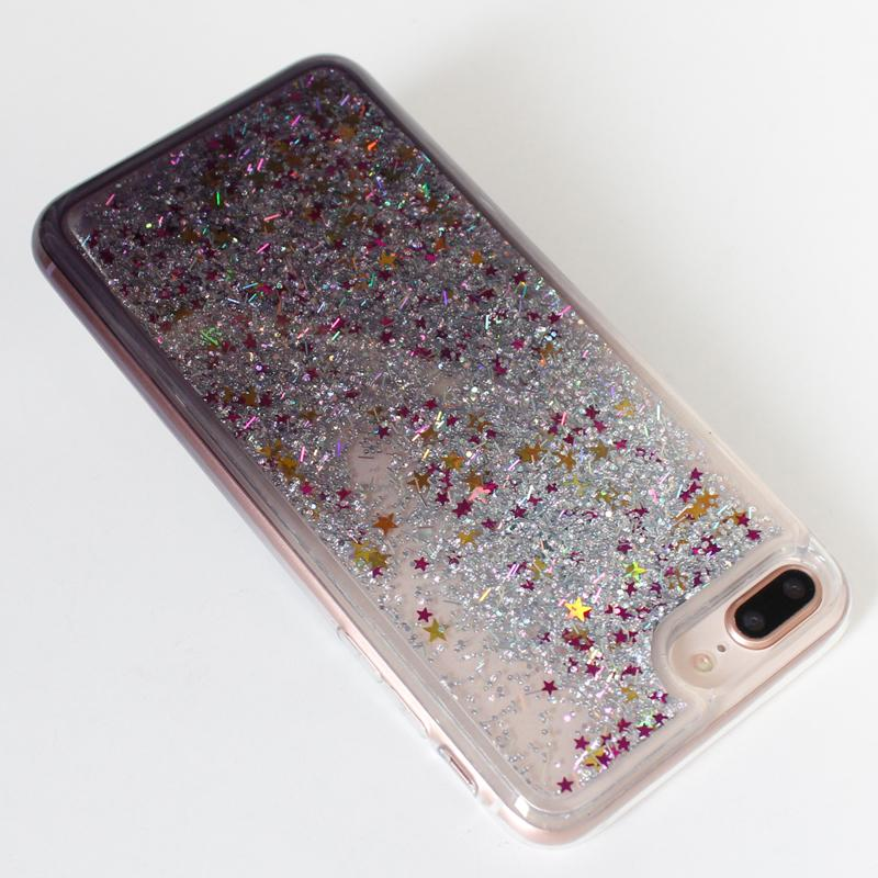 Quicksand Case iphone x iphone 8 plus Glitter Liquid Cover Samsung Galaxy Note 8 Motorola Moto E4 G5 Cover D