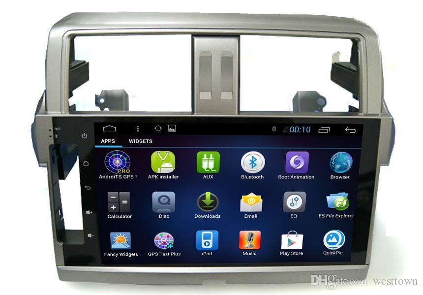 Quad Core Car DVD Video Audio Player Navigation System Toyota Prado 2013 Automobile Electronics