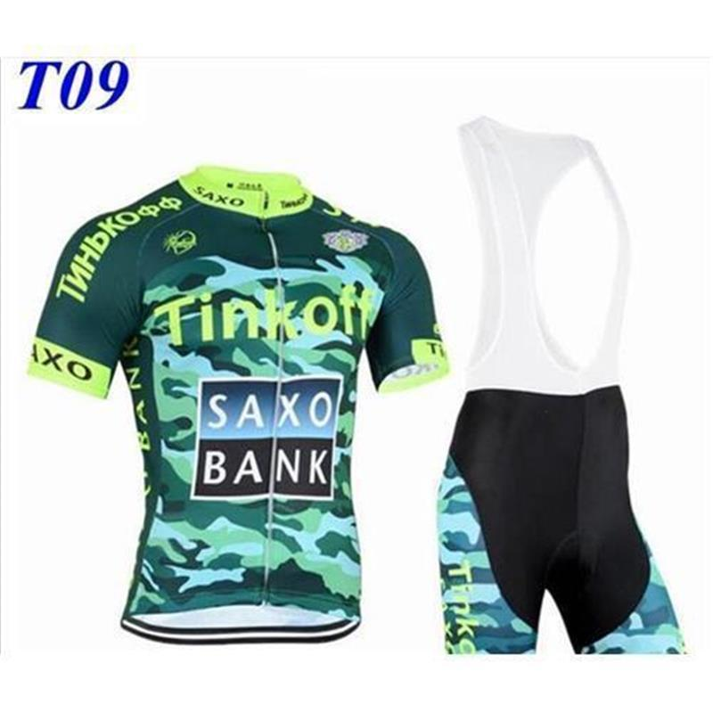 2015 ITEMS Tinkoff Saxo Bank Cycling Jerseys Tour De France Bike Wear Green  Fluo Pro Cycling Jersey Short Sleeves+bib Shorts Size XS-4XLT9 Tinkoff Saxo  ... 2e45ccbd0