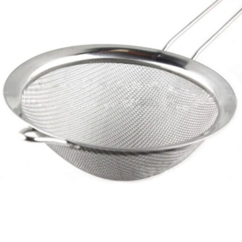 2018 Hot Stainless Steel Wire Fine Mesh Oil Strainer Flour Sifter ...
