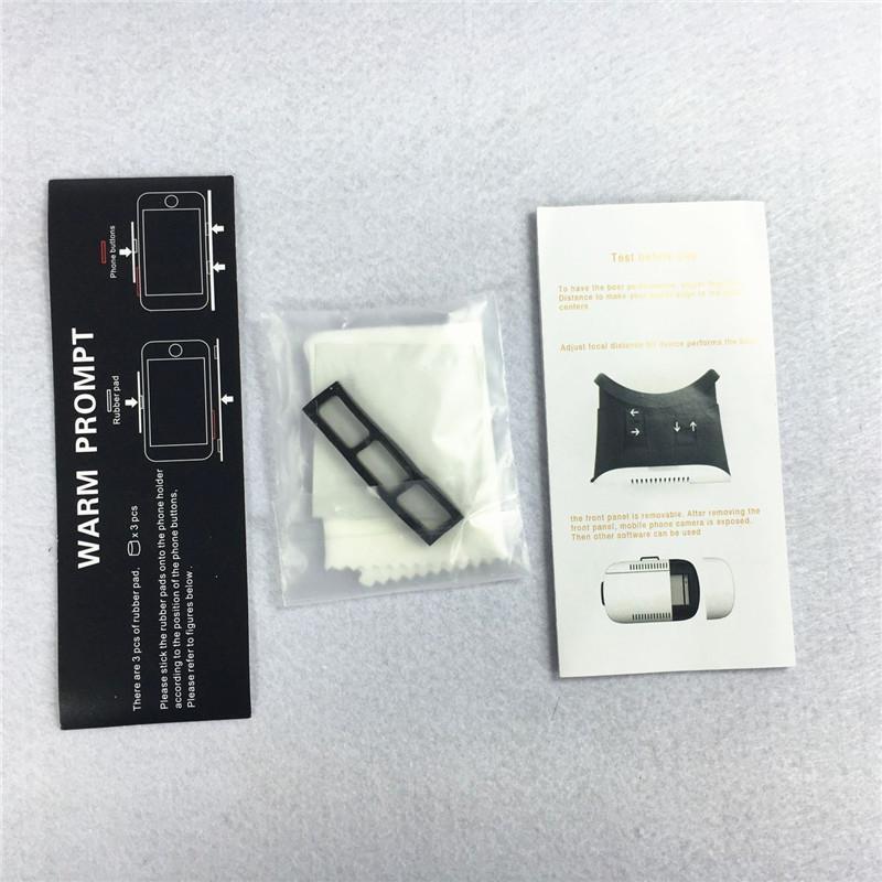 MOQ Head Mount VR BOX Version 1.0 VR Lunettes Lunettes de Réalité Virtuelle Rift Google Film 3D Cardboard pour 3.5-6.0