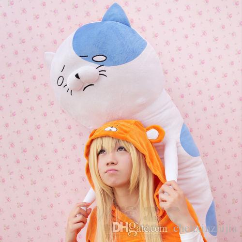 도매 뜨거운 Himouto Umaru - 찬 고양이 다키 마 쿠라 포옹 바디 플러시 베개 쿠션 인형 애니메이션