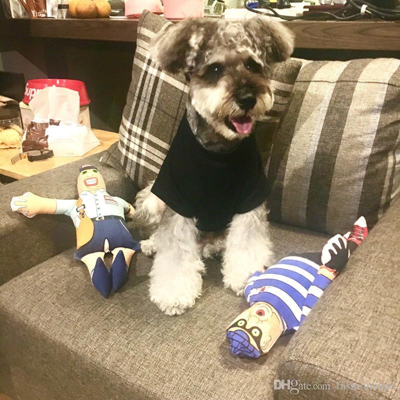 Fashion Dog Hoodies Tide Brand Cute Teddy Puppy Schnauzer Apparel Autumn Winter Warm Outwears Small Dog Sweater Clothing