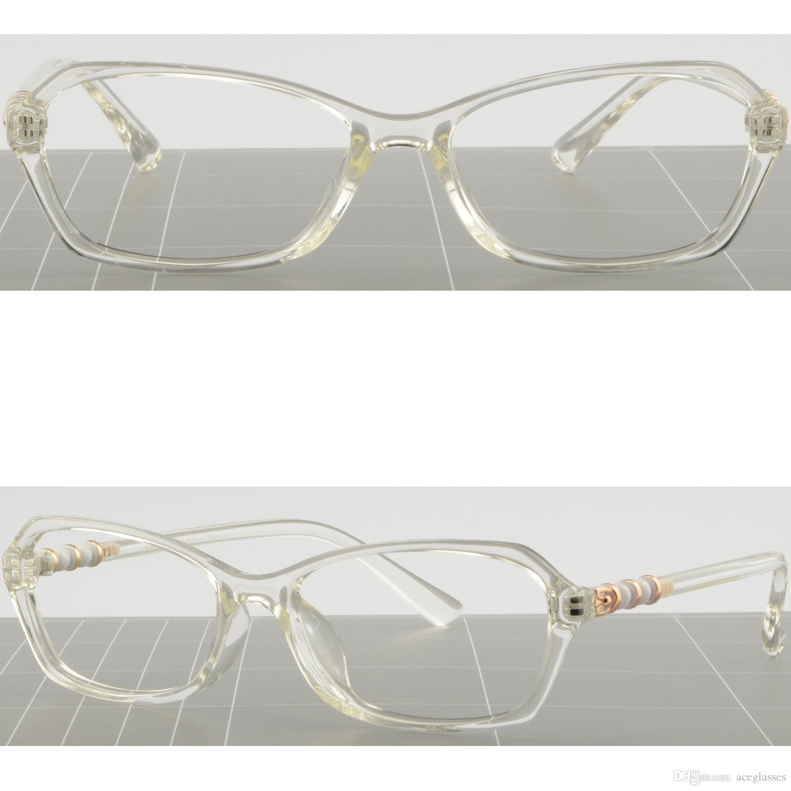 33ffdfd60b3 Light Women s Frame Clear Translucent Flexible TR90 Plastic ...