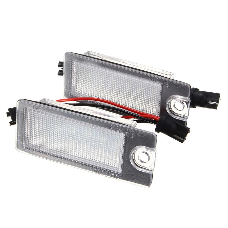 Car 18 LED License Plate Light White Number Plate Lamp For Volvo S80 99-06 V70 XC70 S60 XC90 Accessories