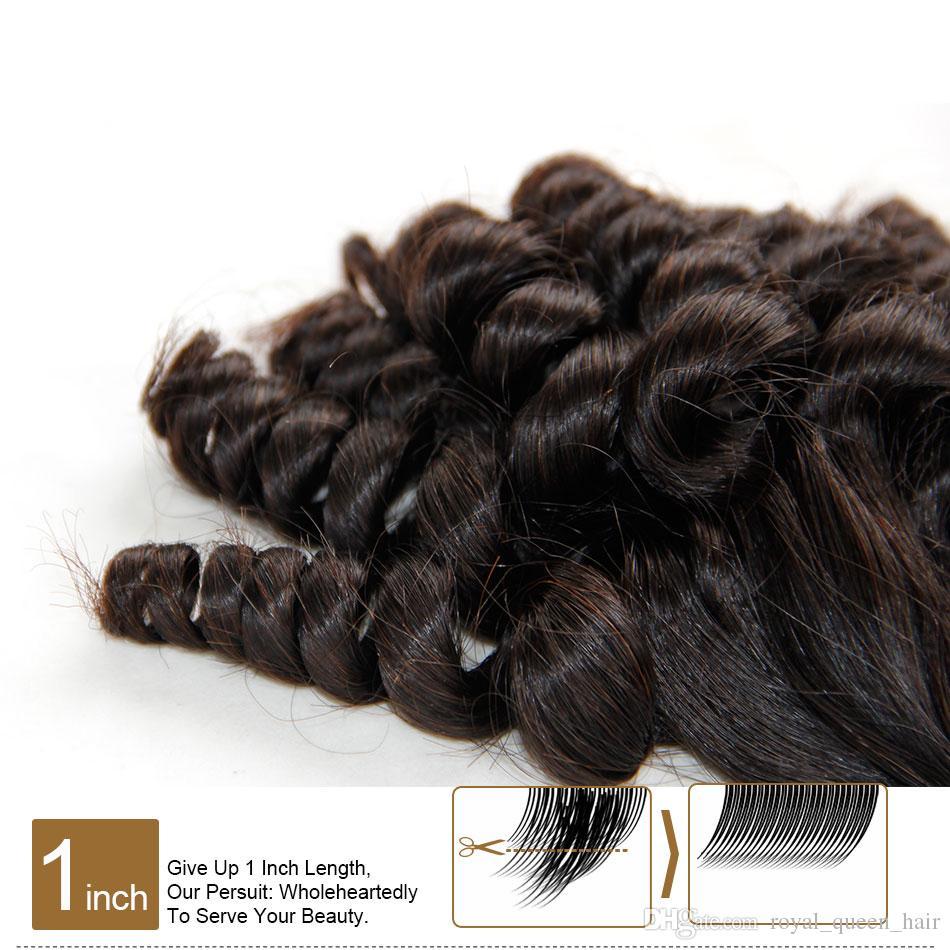 Brezilyalı Teyze Funmi Bakire Saç Işlenmemiş Ham Bakire Brezilyalı Funmi Saç Örgüleri Kabarık Spiral Romantizm Bukleler% 100% İnsan Saç Uzantıları