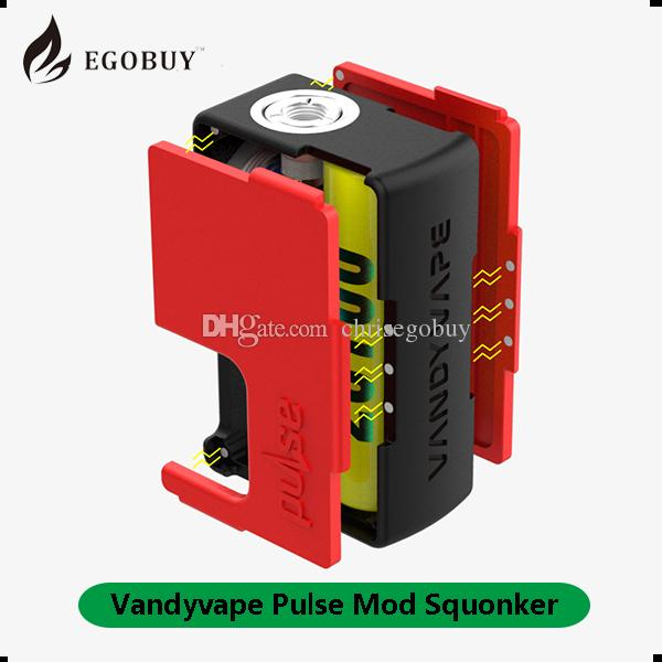 100% Authentic VandyVape Pulse squonk BF Box Mod Mechanical Squonker Mod 18650 20700 Battery Compatible Vandy Vape Mod Christmas gifts