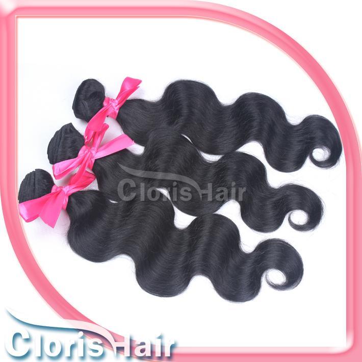 Wholesale 4Bundles Body Wave Peruvian Hair Weft Cheap Natural Wavy Remi Human Hair Extensions Best 100% Peruvian Weave as Julienchina