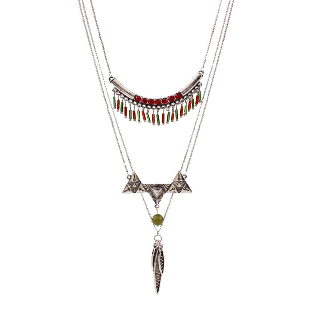 product image multilayer necklace products express olio willow