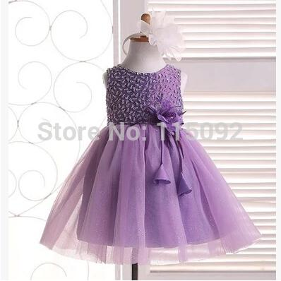 Purple Ball Gown Pink Real Baby Girl Girls Tulle Puffy Beauty