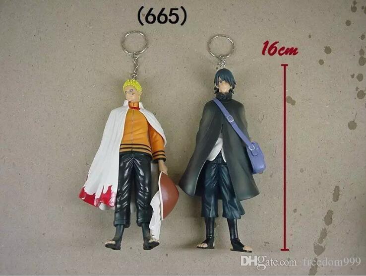 Naruto Figure Uzumaki Naruto en Uchiha Sasuke PVC Actiefiguren Speelgoed Model Dolls 16 CM Ca Ca Cary Great Gift