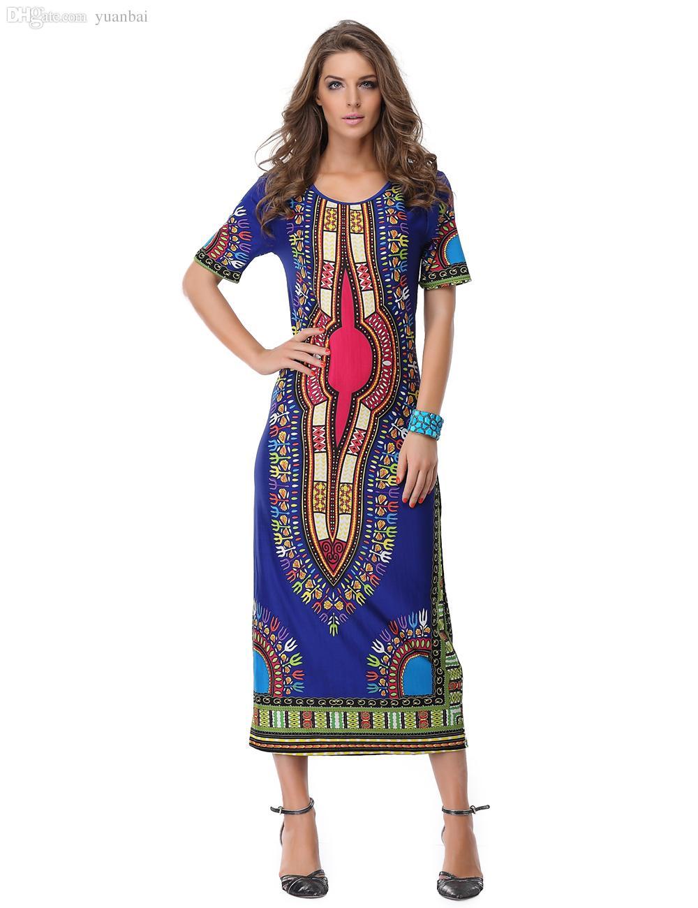 Großhandel Großhandels Frauen Sommer Traditionelle Afrikanische Mode ...