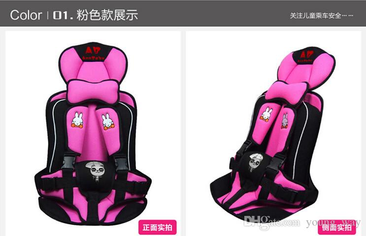 baby car safety seat 0 6 years old portable child car safety seat kids car
