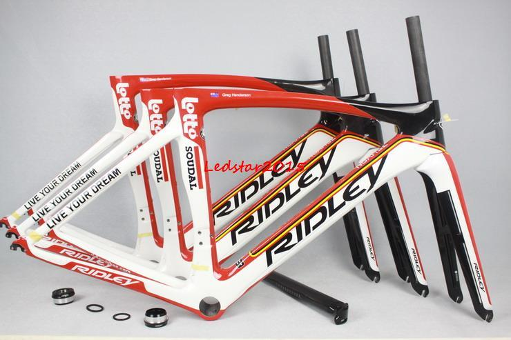 2016 Ridley Carbon Road Bike Frame Hot Selling Lotto Team Color