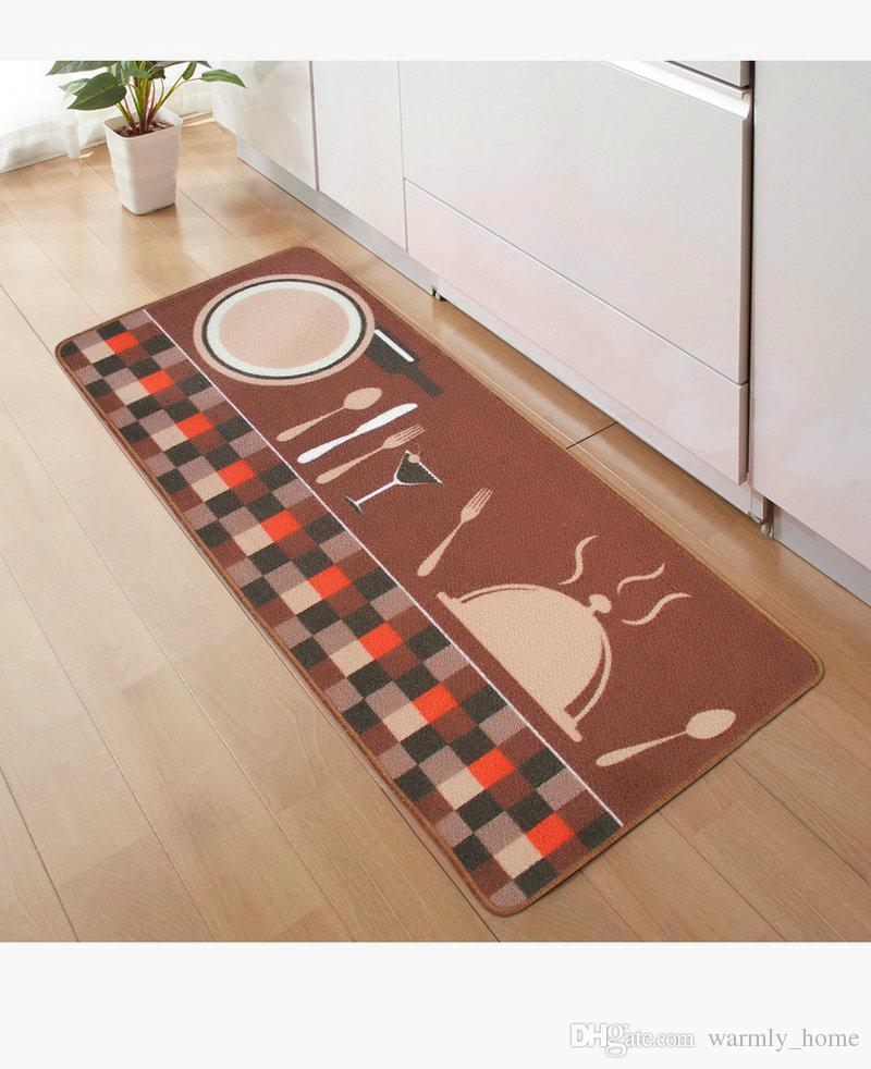 Kitchen Room Soft Area Rugs Floor Pad Matting Anti Non