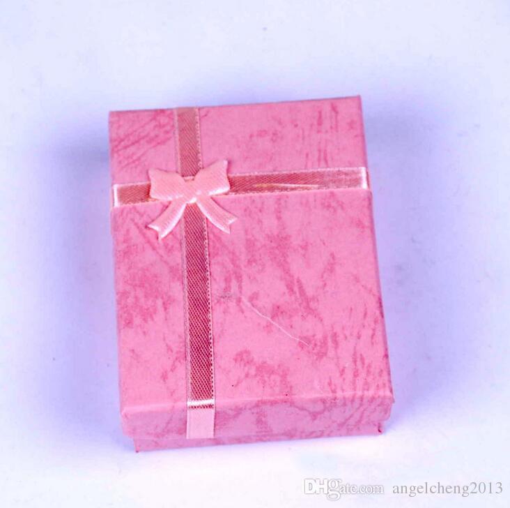7cm * 9cm * 2.5cm Displaydoos, sieraden doos, ringdoos, ketting doos, geschenkdozen, / diverse kleur leveren