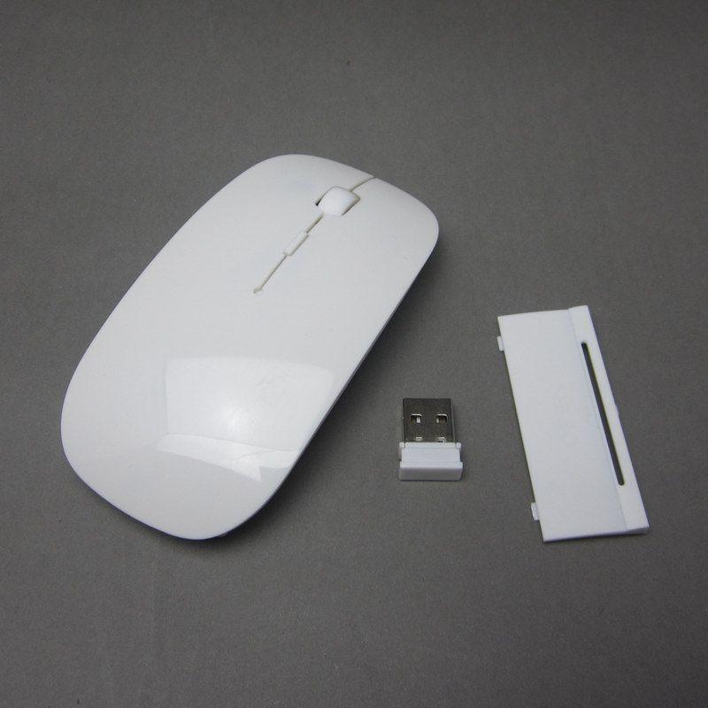 2b34e399887 Laptop Wireless Mouse Ultra Thin Optical Mouse WHITE 2.4GHz USB Wireless  Optical Mouse Mice For Apple Mac Macbook Pro Air Canada 2019 From Johnswu,  ...