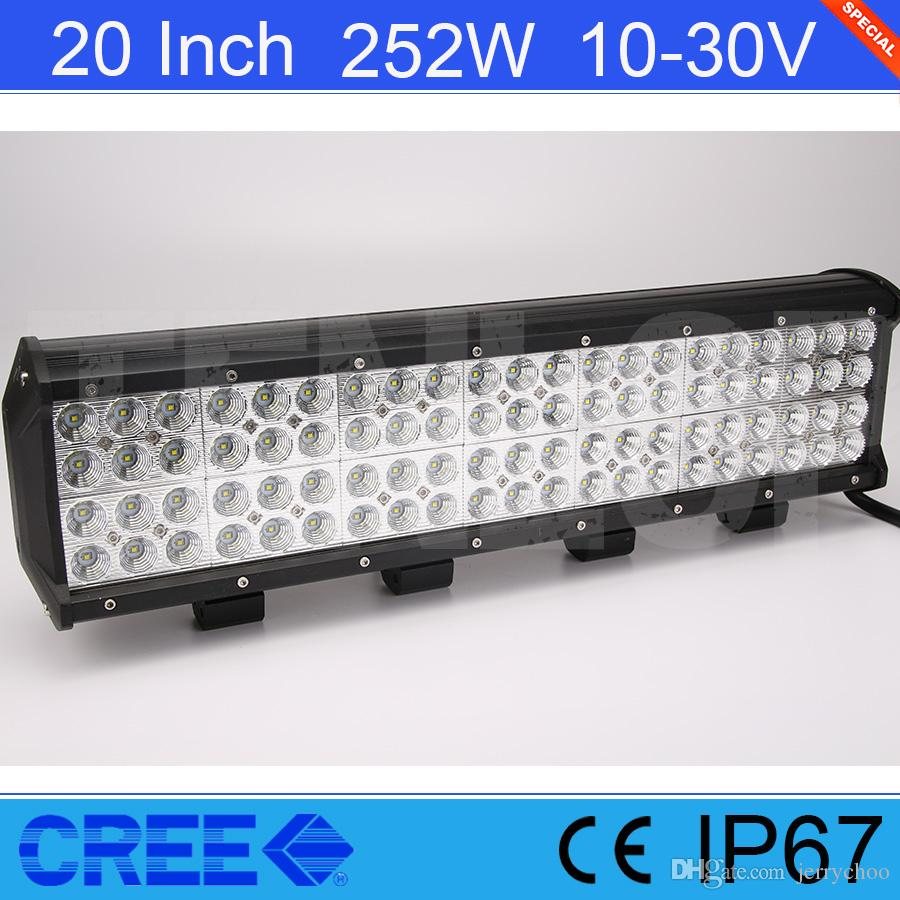 Light sourcing 20 inch cree 252w led quad rows light bar for light sourcing 20 inch cree 252w led quad rows light bar for offroad atv suv wrangler truck 12v 24v led offroad light bar led offroad lights from jerrychoo mozeypictures Gallery