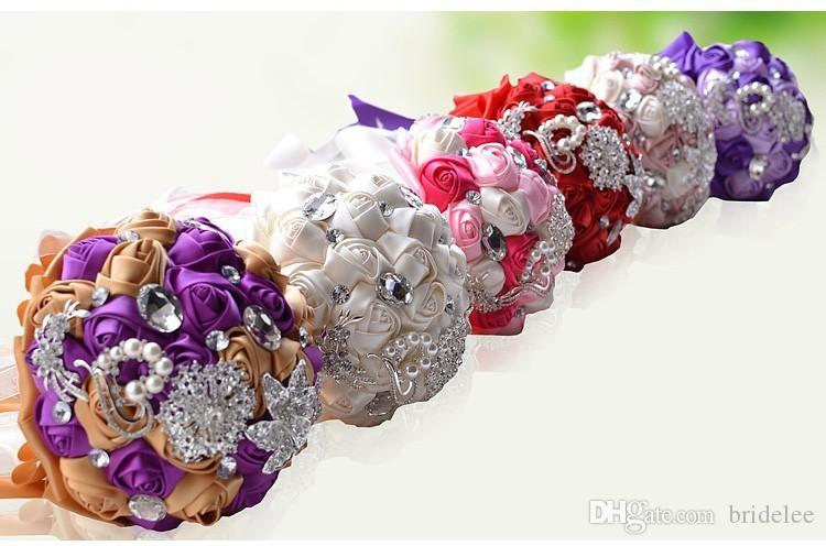 Gorgeous Wedding Flowers Ramos De Novia Elegant Pearl Bride ...