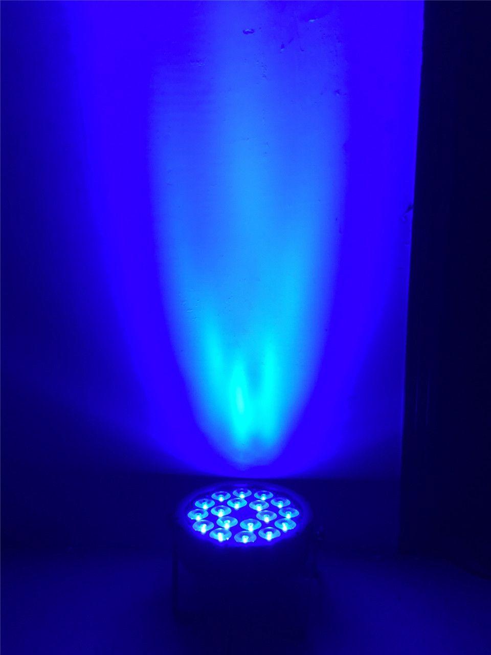 18x12 W RGBW Led Par Luce DMX Stage Lights Luci D'affari Professionale Piatto Par Can il Partito KTV discoteca del DJ della Lampada