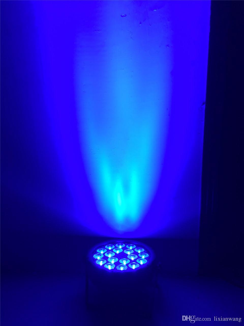 LED الاسمية 18X12 W RGBW 4IN1 لوس ديلا lavata دي فندق Lusso تحكم DMX بقيادة شقة الاسمية وسي دي جي