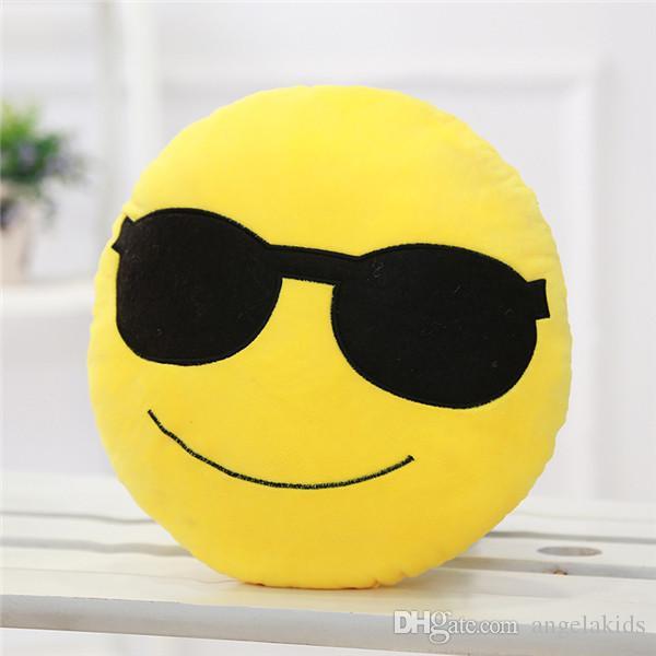 The Spot Plüschtier Puppen QQ Expression Kissen Rückenkissen Sofakissen sind Hersteller Direct Feel Soft kann angepasst werden Wärme im Jahr 2015