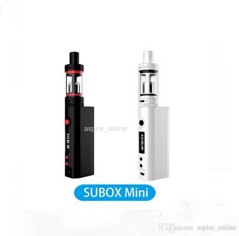 Original Kangertech Subox Mini Starter Kit Black White Vapor Kit Kanger E Cigarettes Starter Kit with Kbox Mini Battery and Subtank Mini